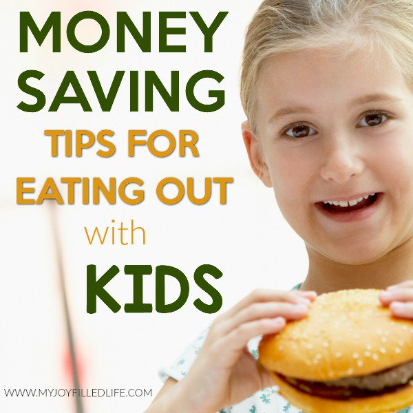 Money Saving Tips for Eating Out with Kids